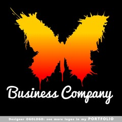 logo, butterfly, illustrations, insects, sign, design, arts