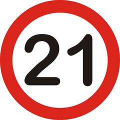 Verkehrszeichen, 21