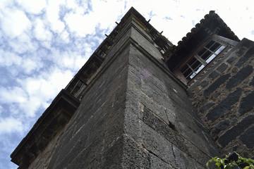 wall of Santo Domingo de Guzmán church, La Laguna, Tenerife