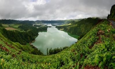 Panoramica da Lagoa das Sete Cidades
