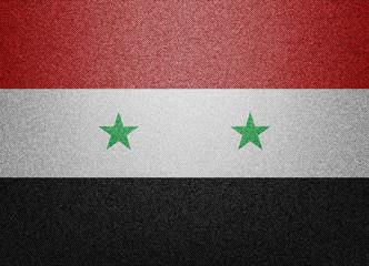 Denim Syria flag
