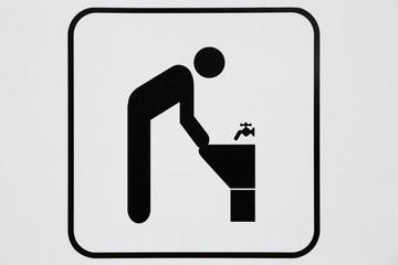 Symbol of lavatory