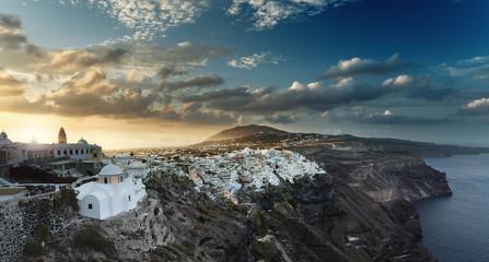 Santorini Cyclades Island Greece