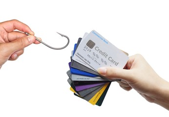 credit card phishing concept