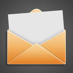 Busta con lettera