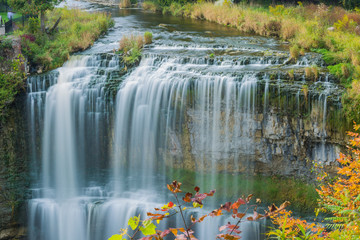 Webster's falls in Hamilton. Ontario, Canada