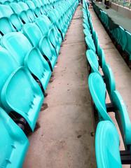 light green stadium chairs background image.