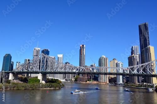 Poster Oceanië Story Bridge - Brisbane Queensland Australia