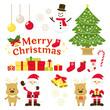 クリスマス イラスト素材セット