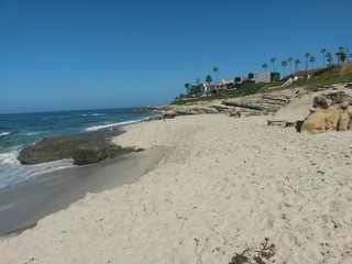 Spiaggia di Wind & Sea san diego