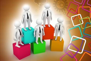 business pyramid