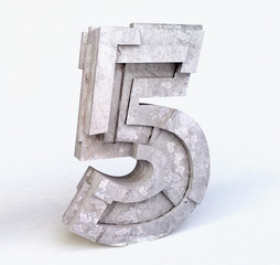 Stone Number Five in 3D