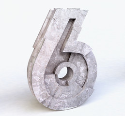 Stone Number Six in 3D