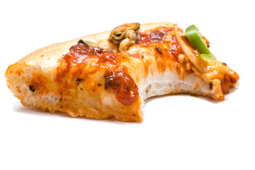 Cut off Slice of pizza