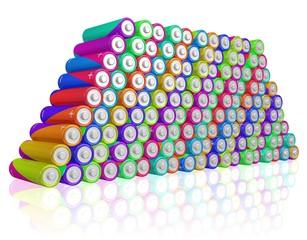 massenhaft Batterien, viel Energie, Recycling, Entsorgung