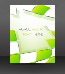 Abstract business flyer for design, corporate banner, brochure