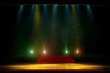 Theatrical scene