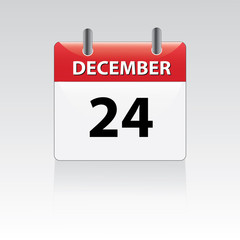 December 24th calender