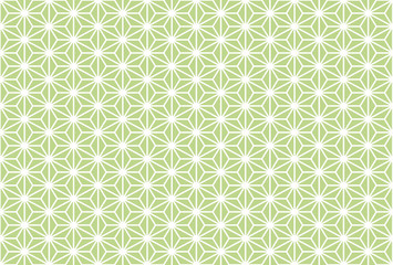 Seamless pattern of Asanoha