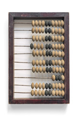 abacus on white