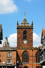 St Peters Church Clock tower, Chester © Arena Photo UK