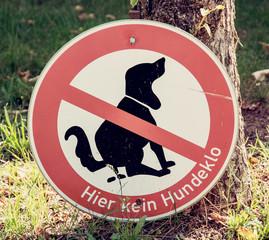 Dog excrement to ban