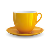 Fototapety Yellow Cup