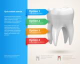 Fototapety Dentistry infographics