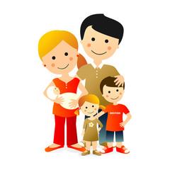 Familia Numerosa de 5 miembros
