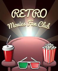 Retro Movies Fan Club poster