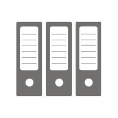 Icono archivadores oficina FB