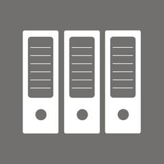 Icono archivadores oficina FO