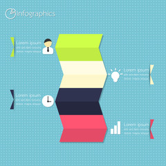 Modern Business Infographics. Vector illustration.