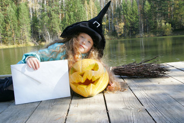 Halloween. National holidays and traditions. Fairy tale. Funny