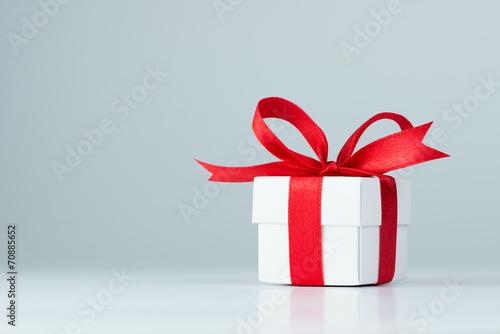 Leinwandbild Motiv Gift box
