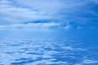 canvas print picture - Wasser und Himmel