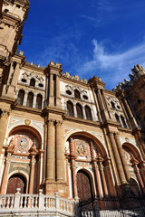 Baroque Cathedral of Malaga, Andalusia, Spain
