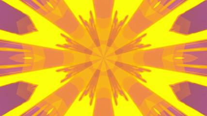 VJ Retro Yellow Looping Animated Background