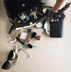 Nella borsa di una donna