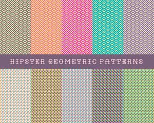 Hipster Geometric Patterns