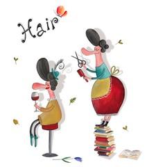 Hairdresser salon