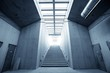 Modern building interior - 70887892