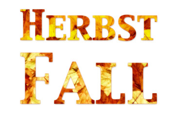 fall and herbst writing