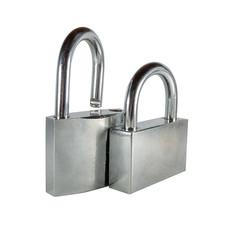 Two padlocks