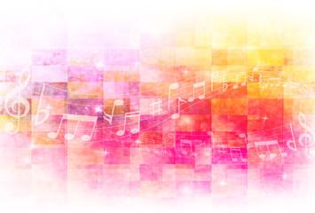 音譜 音楽 背景