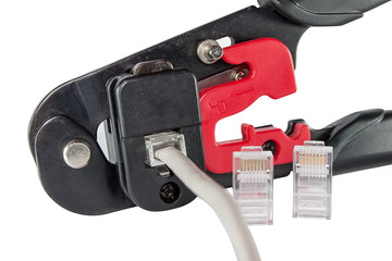 Mounting clamps, connectors and cable