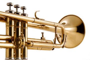 trumpet close up