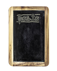 Pasta menu board