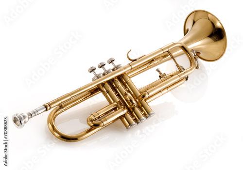 Leinwanddruck Bild trumpet