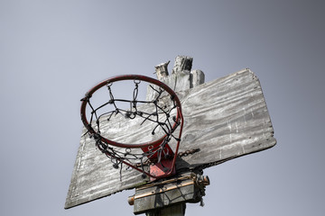 Village Basketball basket